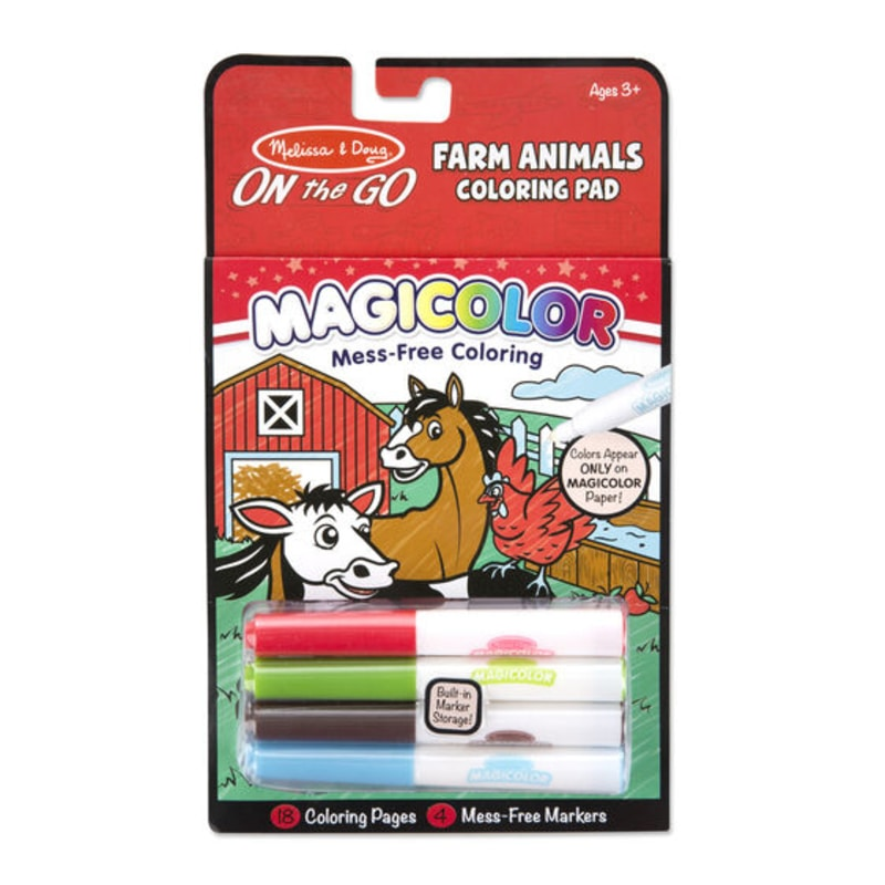Magicolor-Farm Animals Coloring Pad